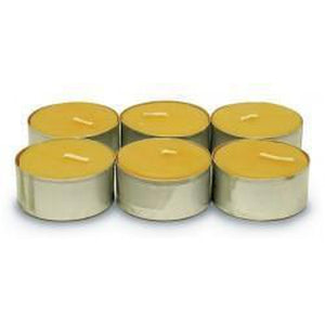 Beeswax Tealights-6 Pack