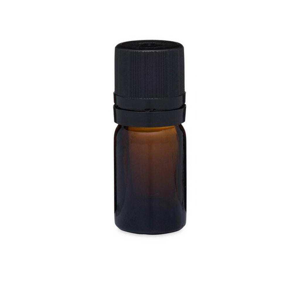 Amber Euro Dropper Bottle with Tamper Evident Cap 5 ml