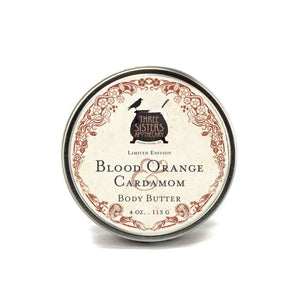 Body Butter - Blood Orange Cardamom 4 oz.