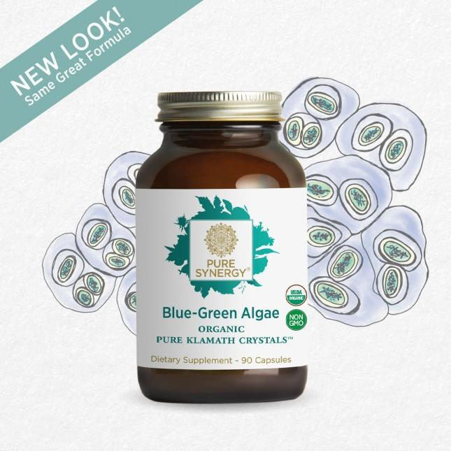 Blue Green Algae 90 Vegetarian Capsules