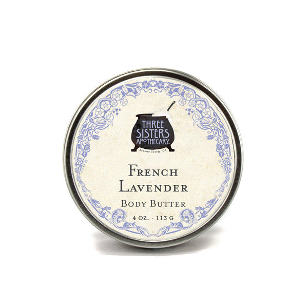 Body Butter - French Lavender 4 oz.