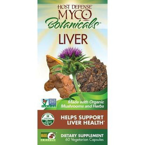 Host Defense Myco Botanicals Liver - Rosemary's Garden