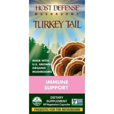 Turkey Tails 60 Vegetarian Capsules