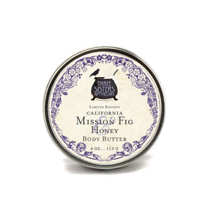 Body Butter - California Mission Fig & Honey 4 oz.
