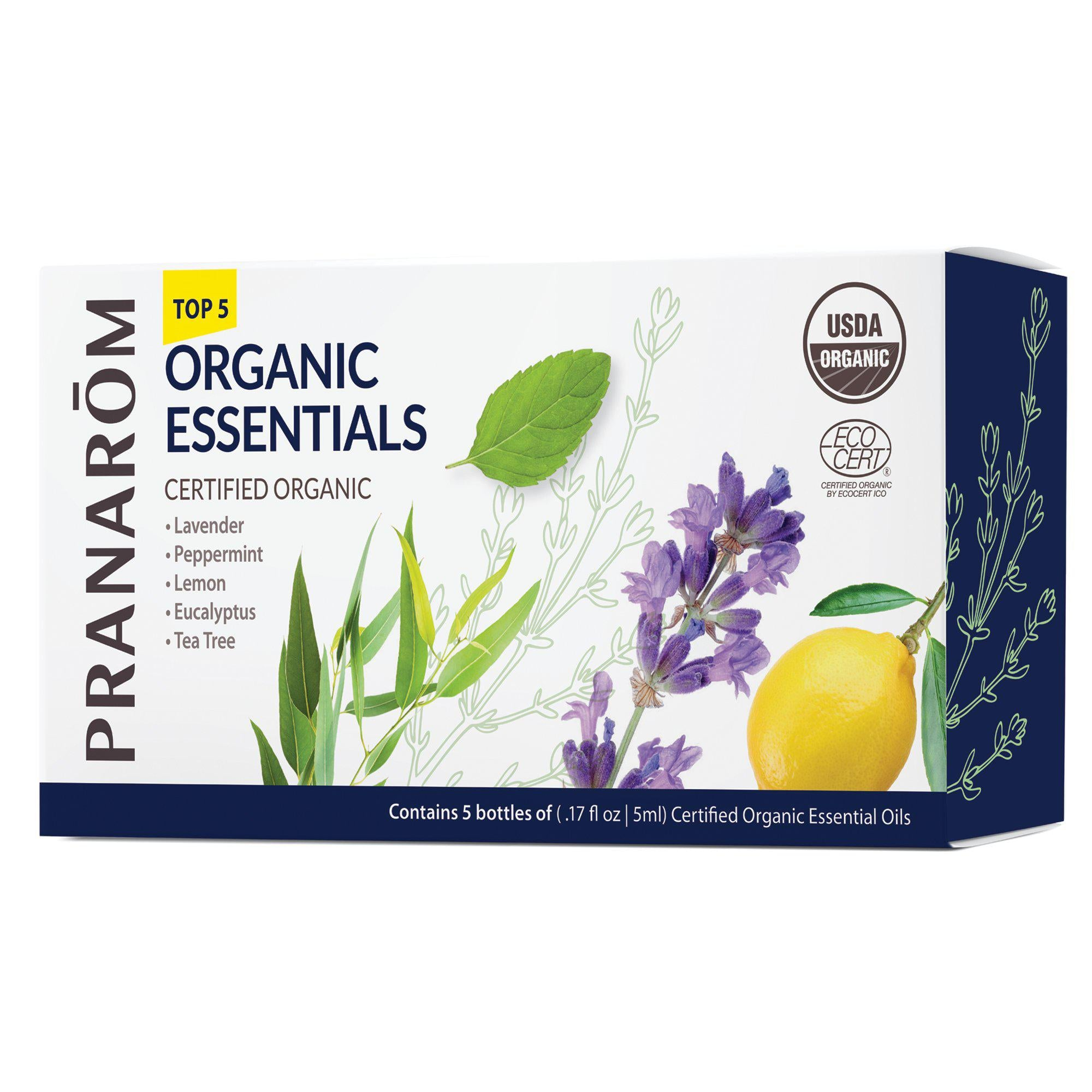 Top 5 Organic Essentials
