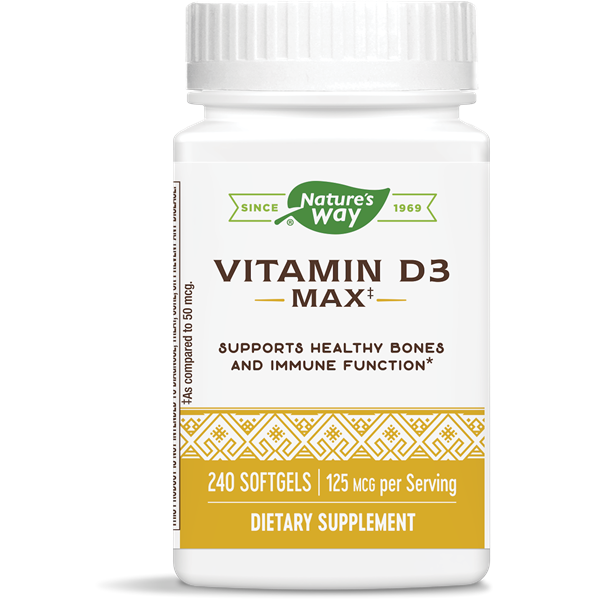 Vitamin D3 5,000 IU / 240 Softgels