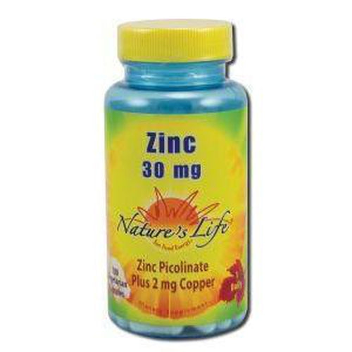 Zinc 30 mg Picolinate 30 mg 100 ct