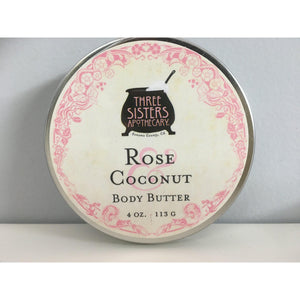 Body Butter Rose Coconut