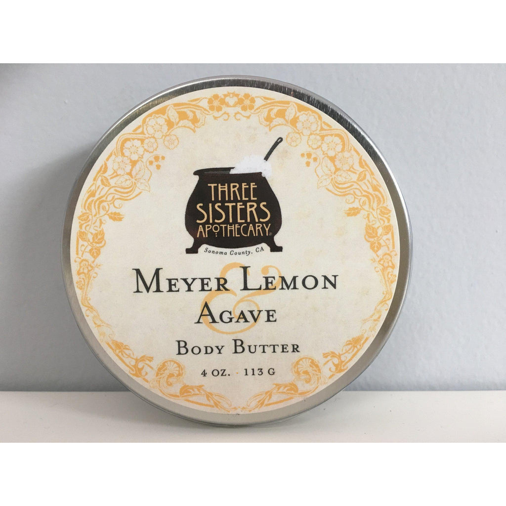Body Butter - Meyer Lemon 4 oz.