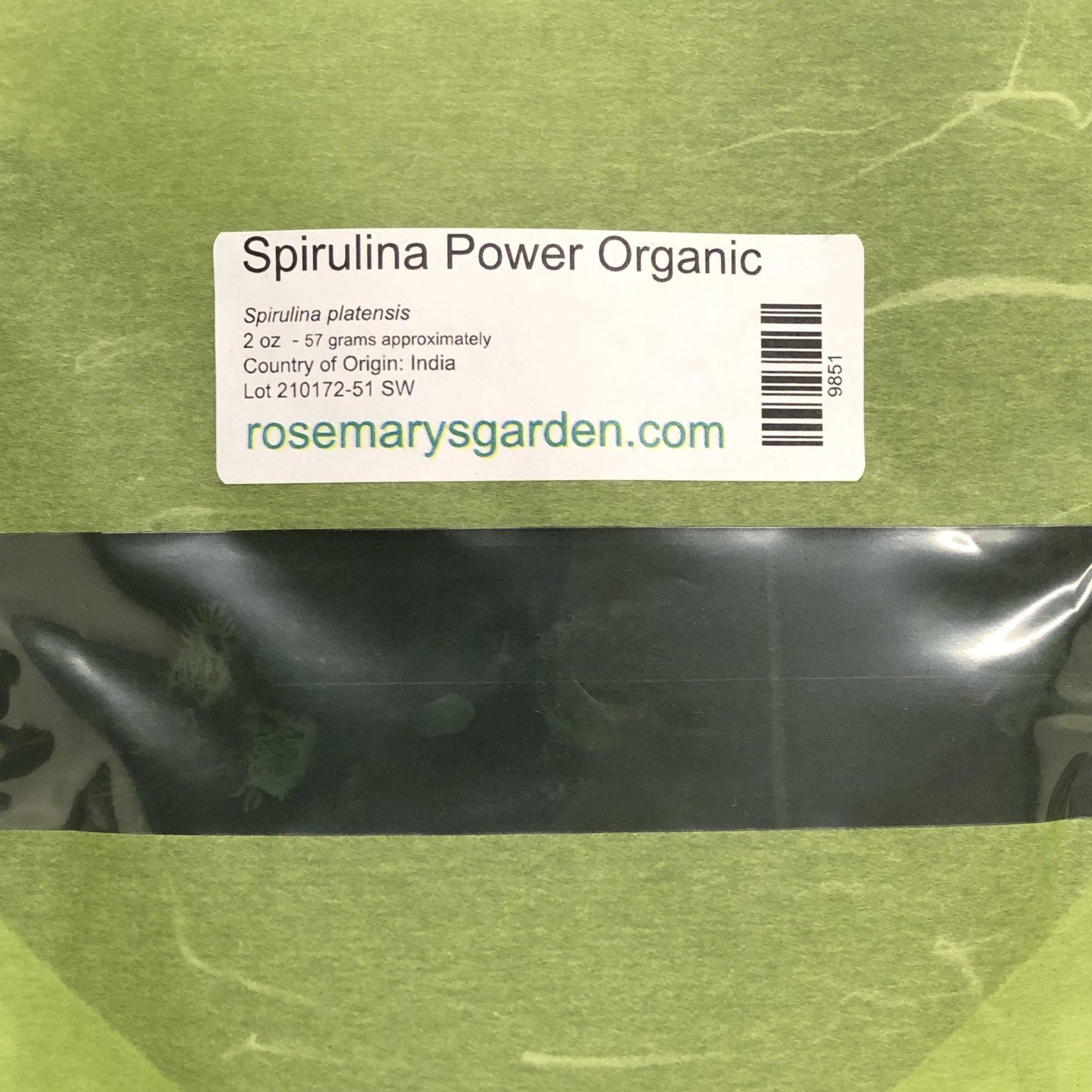 Spirulina Powder Organic 2oz