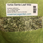Yerba Santa Leaf Wildcrafted 2oz