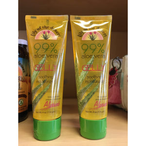 Aloe Vera Gelly 4 oz. Tube