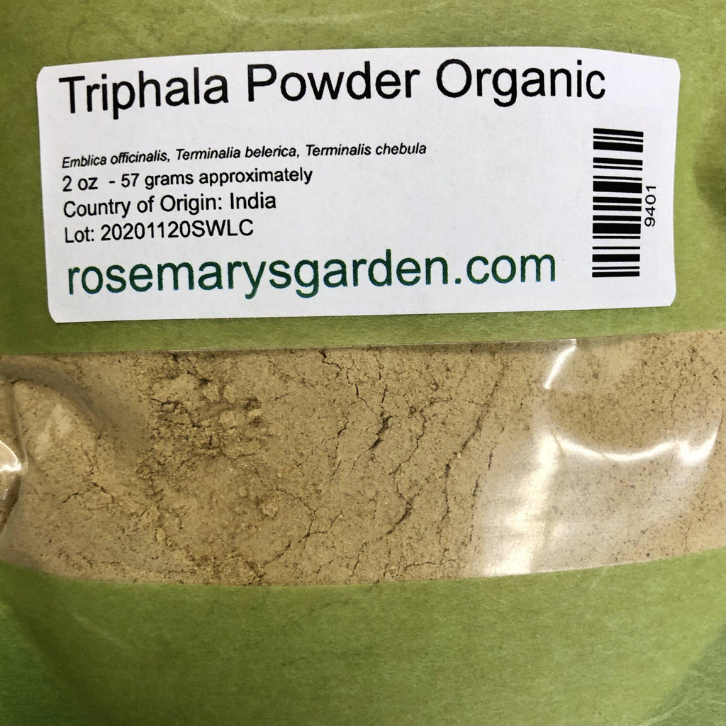 Triphala Powder Organic 2oz