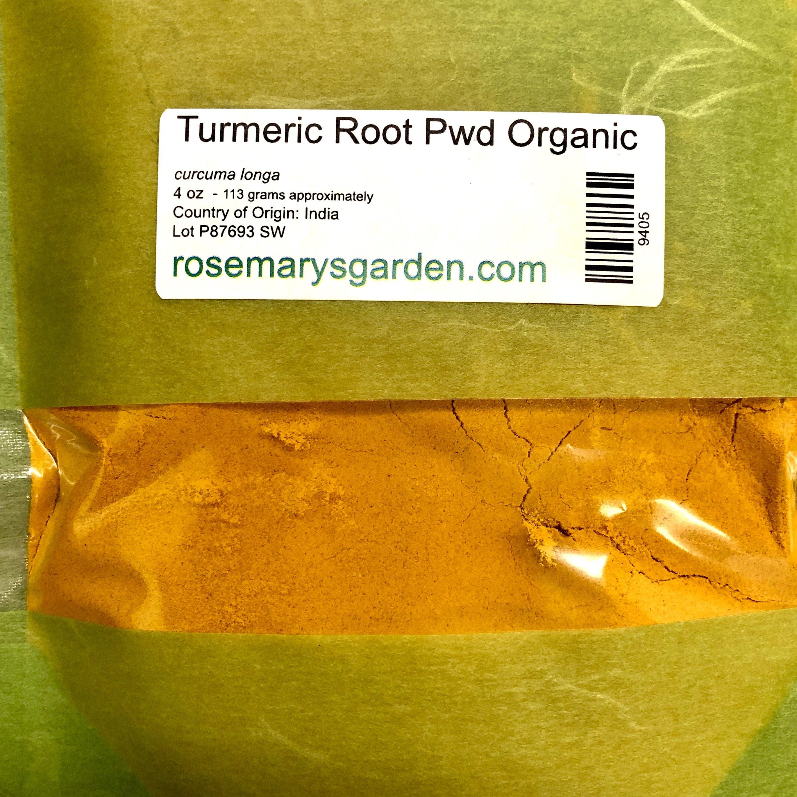 Turmeric Powder Organic 4oz