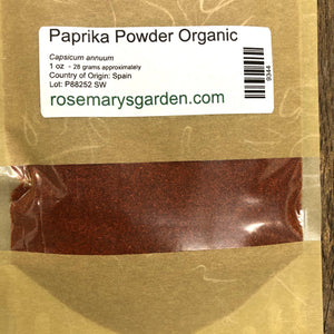 Paprika Powder Organic 1oz