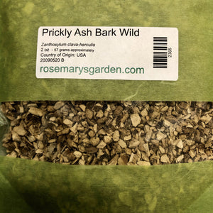 Prickly Ash Bark Wildcrafted 2oz
