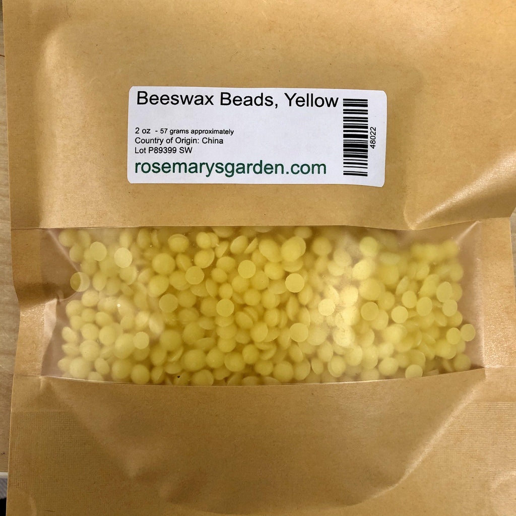 Beeswax Beads Filtered 2oz