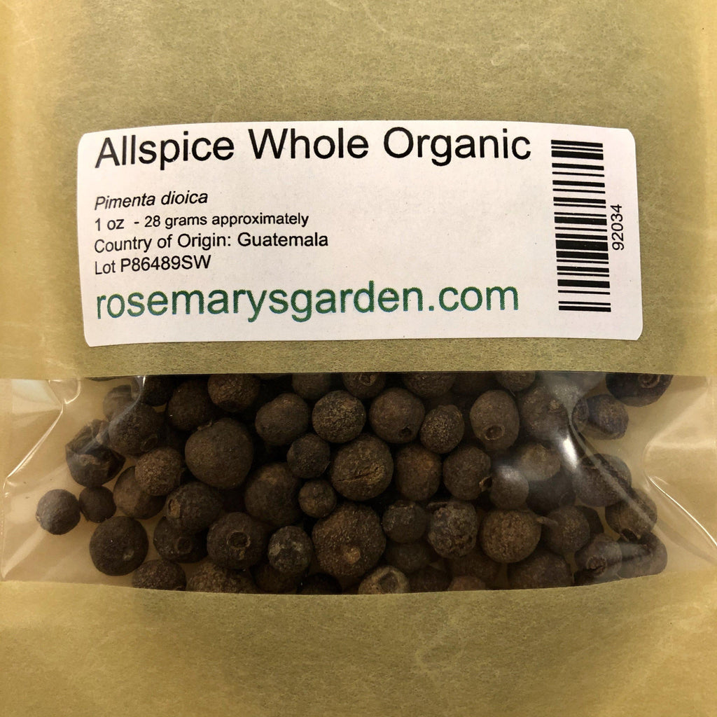 Allspice Whole Organic 1oz