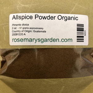 Allspice Powder Organic 2oz