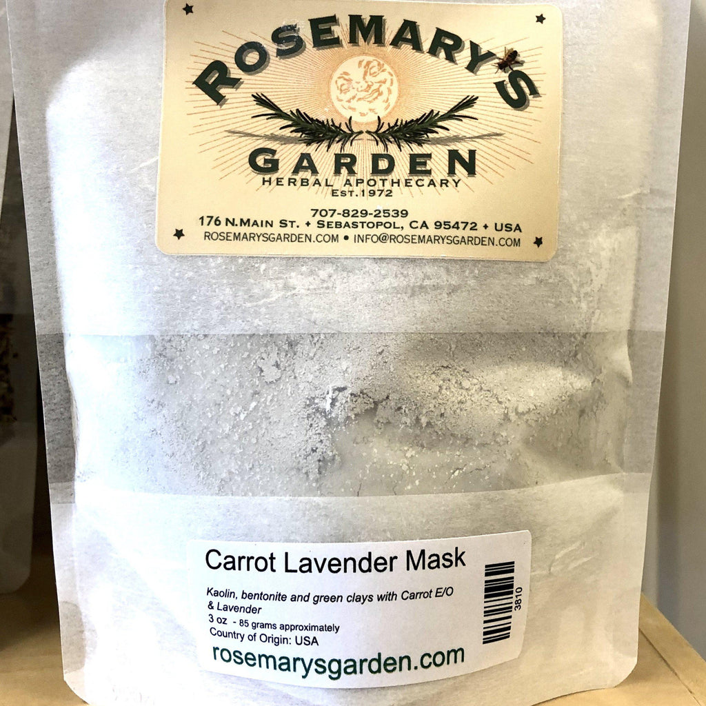 Carrot Seed Lavender Face Mask 3oz