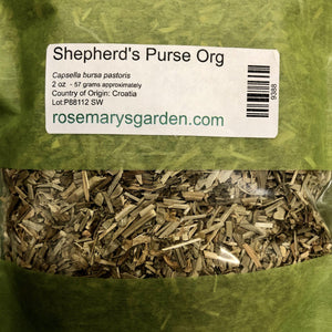 Shepherd's Purse Organic 2oz