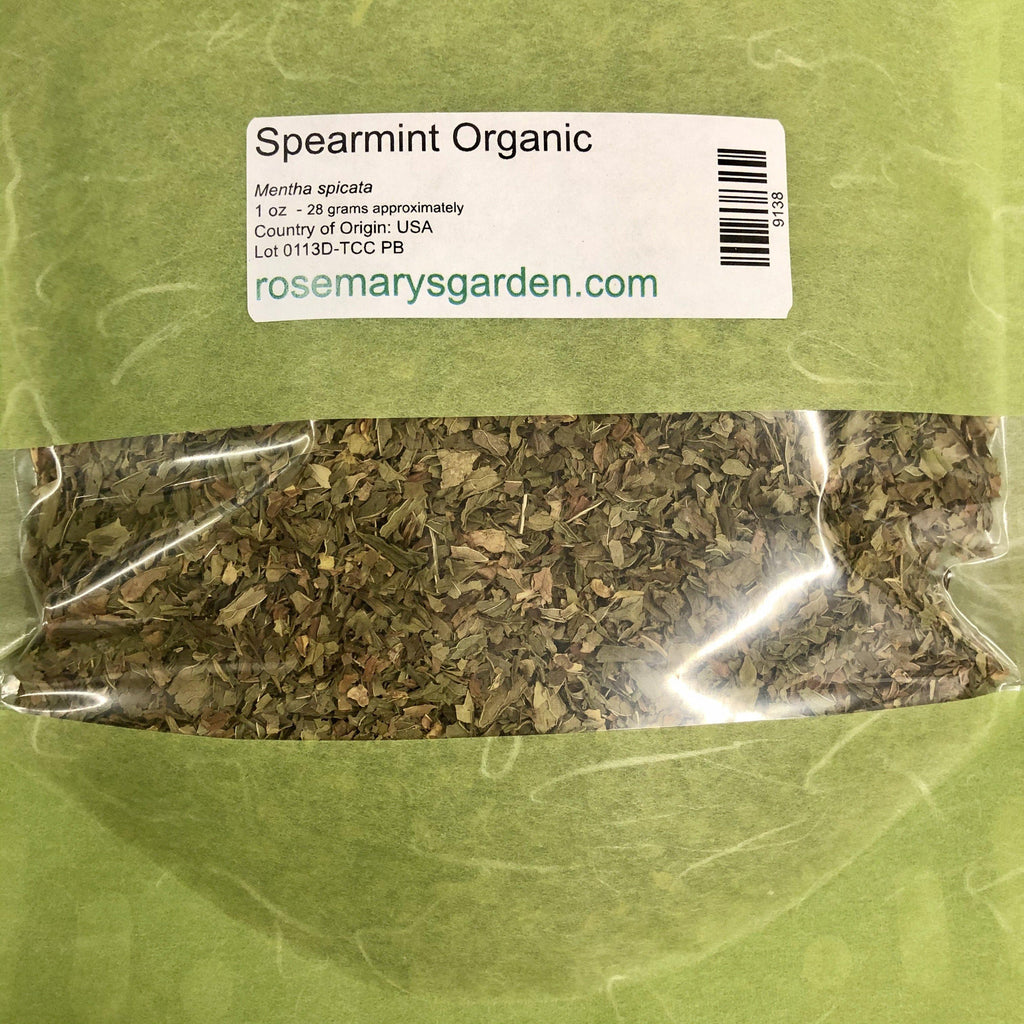 Spearmint Leaf Organic 2oz