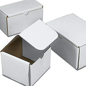 White Tuck Boxes 7x5x4