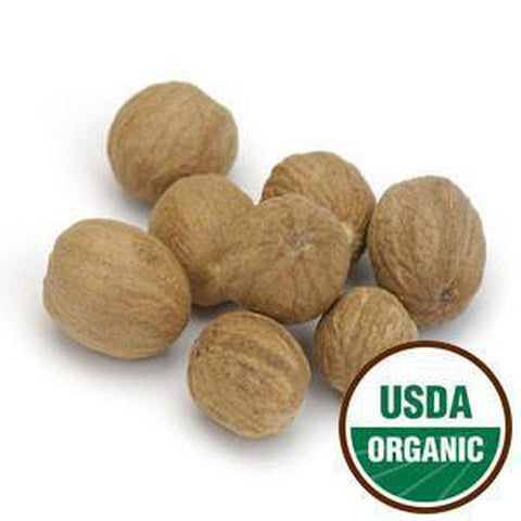 Nutmeg Whole Organic 1 oz. - Rosemary's Garden