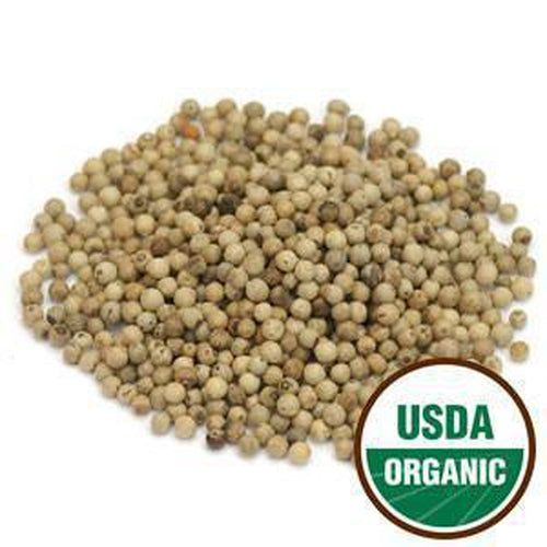 Pepper White Whole Organic 1 oz. - Rosemary's Garden