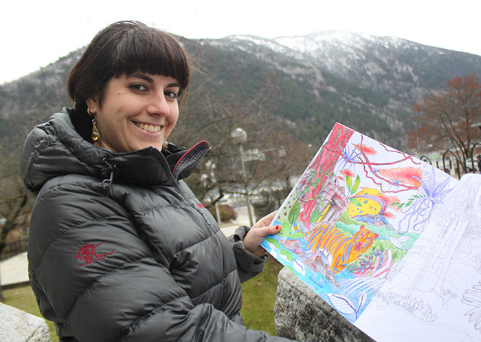Kootenay colouring book celebrates landscapes - Nelson Star