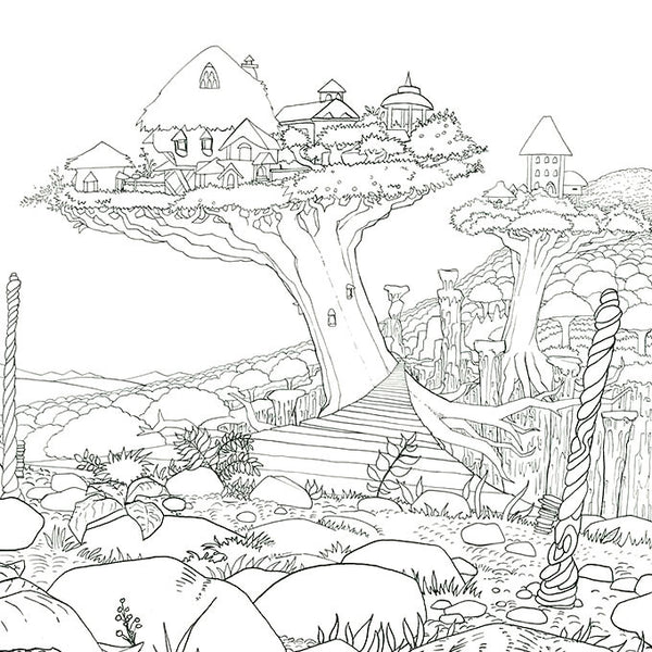 Legendary Worlds: Adult Coloring Book - Colorworth - 5