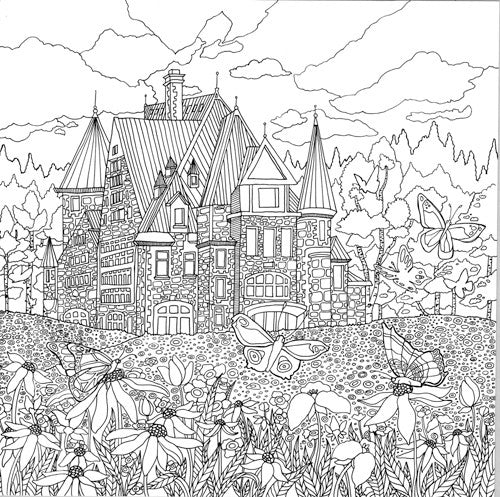 Legendary Landscapes: Coloring Book Journey - Colorworth - 5