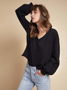 Willa Bishop Sleeve Top