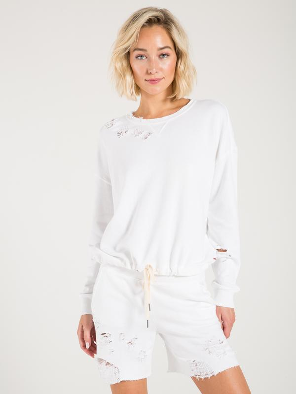 Coco Destructed Sweat Short