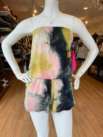 Load image into Gallery viewer, Tie Dye Tube Romper