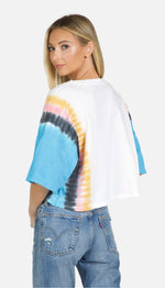 Load image into Gallery viewer, Diaz Tie DyeOversized Crop Tee