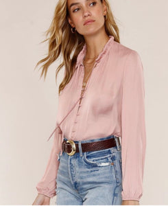Ruffle Neck Blouse