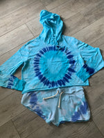 Load image into Gallery viewer, Lightweight Tie Dye Hoodie