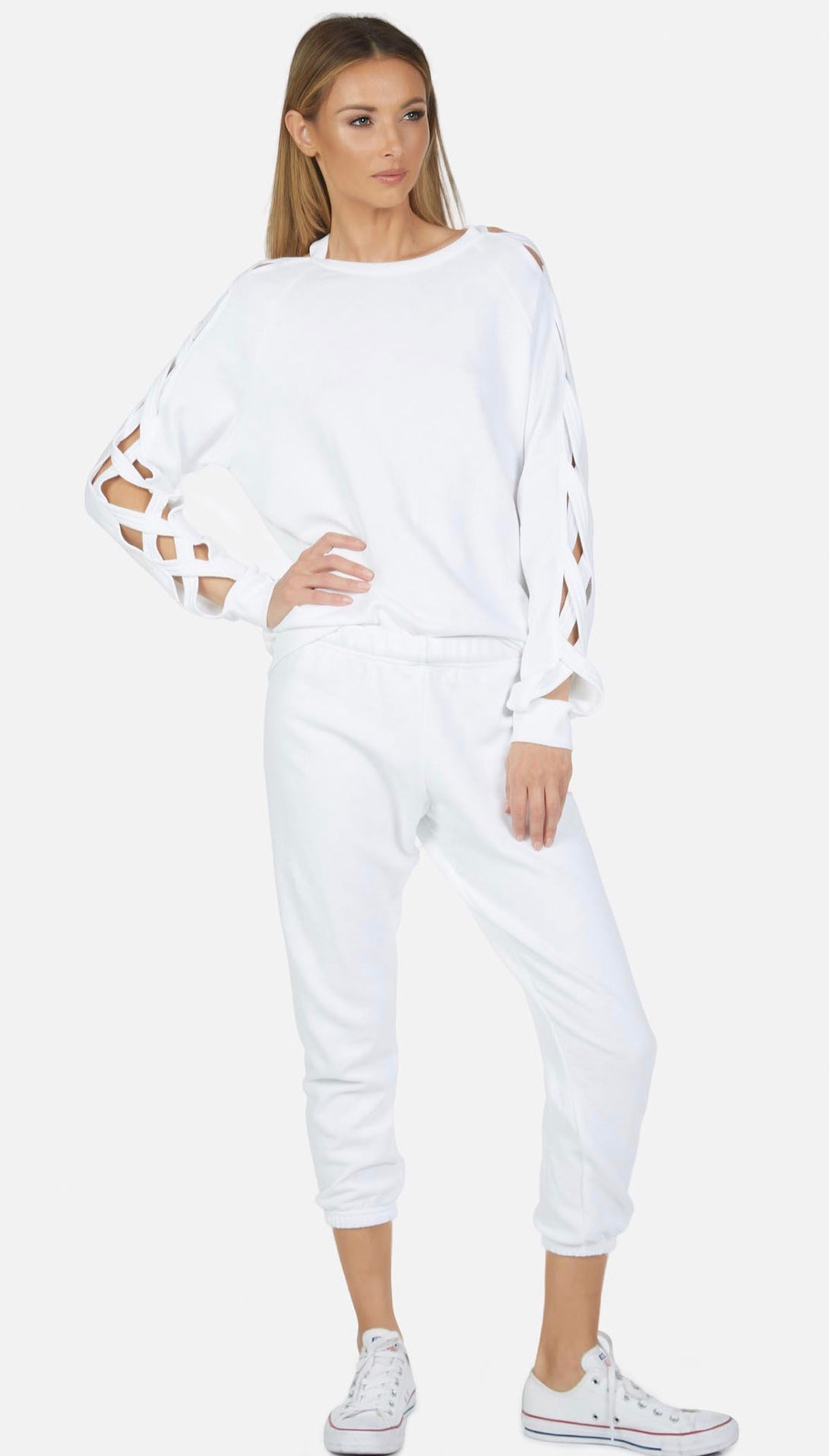 Nate Crop Sweat Pant
