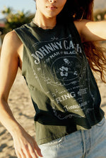 Load image into Gallery viewer, Johnny Cash Ring Of Fire Rocker Muscle