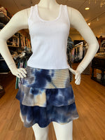 Load image into Gallery viewer, Waffle Tie Dye Ruffle Skirt