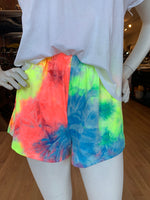 Load image into Gallery viewer, Cora Tie Dye Shorts