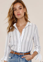 Load image into Gallery viewer, Levi Stripe Button Down