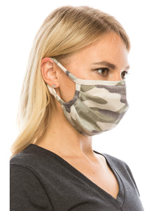 2 Pack Camo Masks