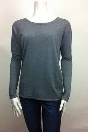 Triblend V-Back Top