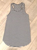 Load image into Gallery viewer, Calvin Racer Back Stripe Rib Tank