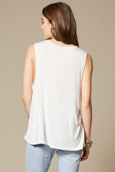 Champagne Muscle Tank