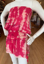 Load image into Gallery viewer, Strapless Tie Dye Dress