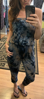 Load image into Gallery viewer, Tie Dye Strapless Jumpsuit