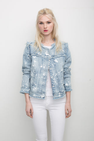 Madison Paint Splatter Jacket